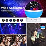 Jayden78 Starry Night Light Projector 360 Degree