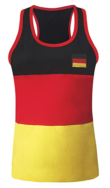 es Ropa Para Mangas Mujer Camiseta Sin Germany Deutschland Amazon q0wBFCx
