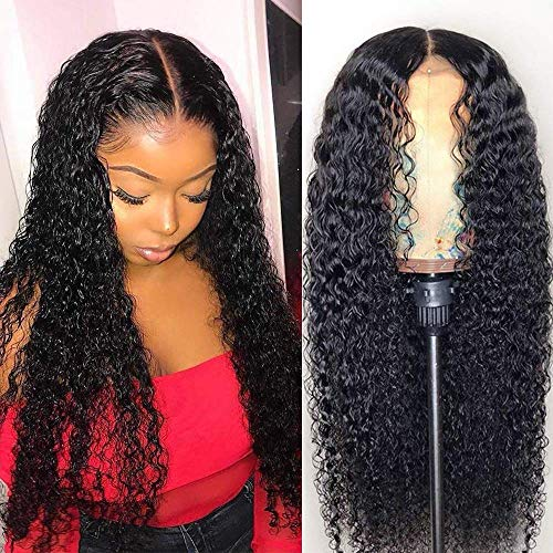 Clarolair Brazilian Curly Hair Wig Human Hair Wigs Curly Lace Front Wigs 4x4 Brazilian Human Hair Wigs For Women Human Hair Pre Plucked Lace Frontal Wig Wet Wavy Glueless Lace Front Wigs 12'' from CLAROLAIR