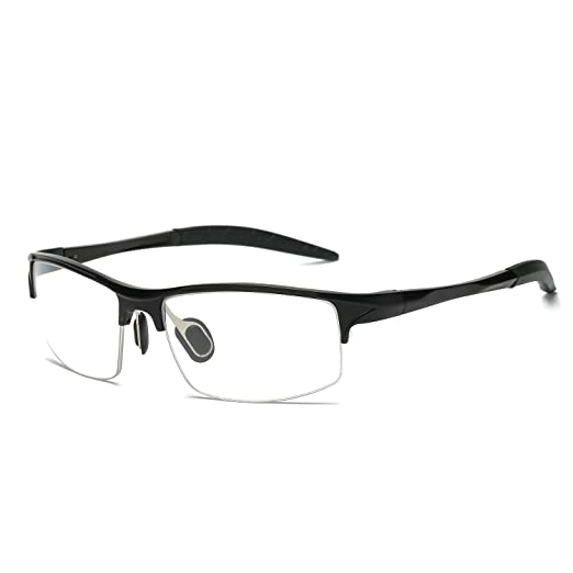 ee6c5af2e13 Galulas Professional Blue Light Blocking Glasses for Men Women Non  Prescription Clear Lens Anti Glare UV