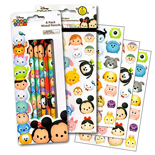 Disney Tsum Tsum Pencils & Stickers