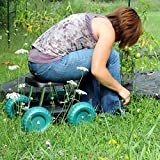 Pure-Garden-Rolling-Garden-Work-Scooter-with-Tool-Tray