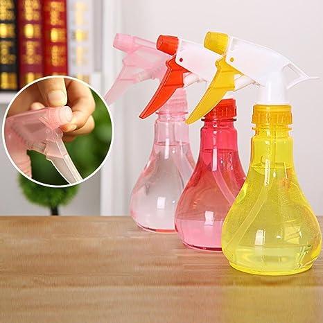 hunpta vacía botella de aerosol plástico regadera las flores agua pulverizador para plantas de salón