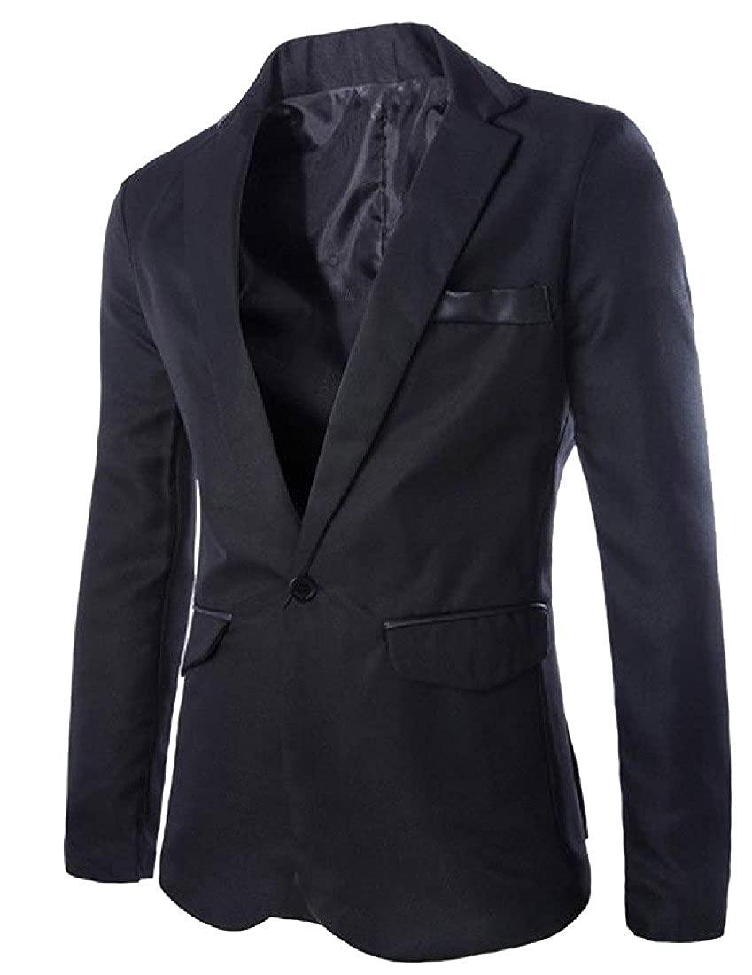 Comaba Mens Wild Bodysuits Open Front Western Blazer Jacket Tuxedo