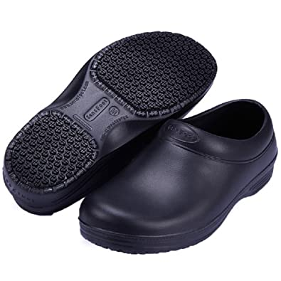 Amazon Com Ehomelife Slip Resistant Chef Shoes Clogs Kitchen Work