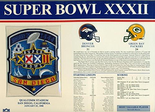 super bowl 32 patch - 9