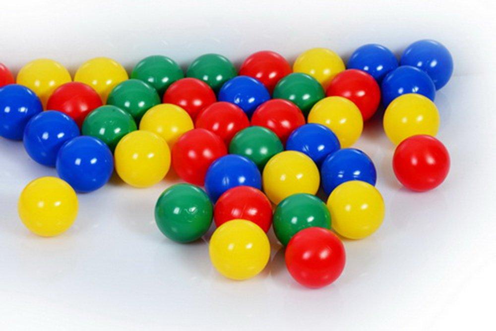 Bällebad Bälle 7cm (500) in Kindergarten & Gewerbequalität Babybälle Plastikbälle ohne gefähliche Weichmacher B00I3DPP74 Babybälle Sonderaktionen zum Jahresende | Verrückte Preis
