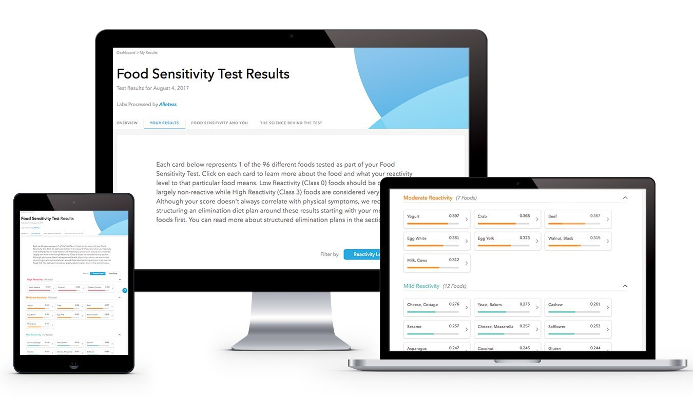 Mua sản phẩm EverlyWell - at Home Food Sensitivity Test Kit