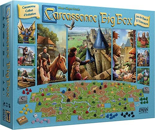 Asmodee – Carcassonne Big Box 2017, carcbb17, no precisa: Amazon.es: Juguetes y juegos