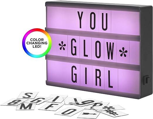 Amazon.com: My Cinema Lightbox – La mini marca LED cambiante ...