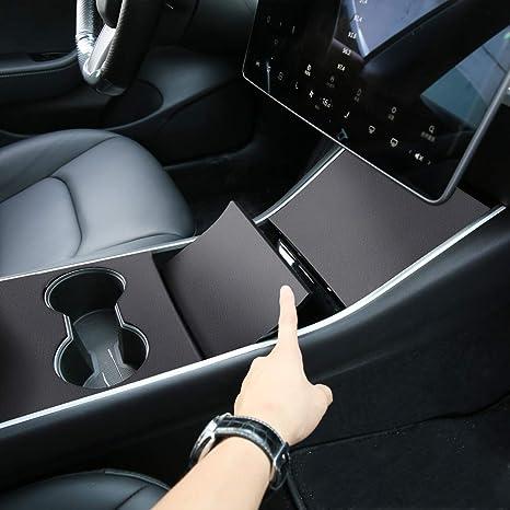 New Replacement For Tesla Model 3 Matte Black Center Console Wrap Kits Parts