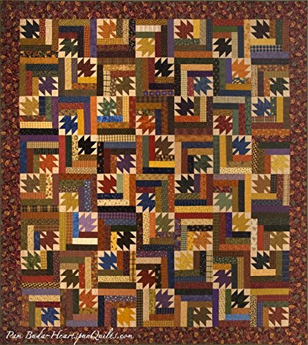 Waltzing Leaves - Heartspun Quilts pattern]()