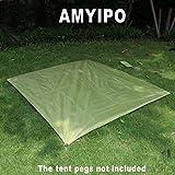 AMYIPO M L XL Size Waterproof C&ing Sunproof Shelter Tent Tarp Footprint Groundsheet Blanket Mat for Outdoor & Tent Footprints   Amazon.com