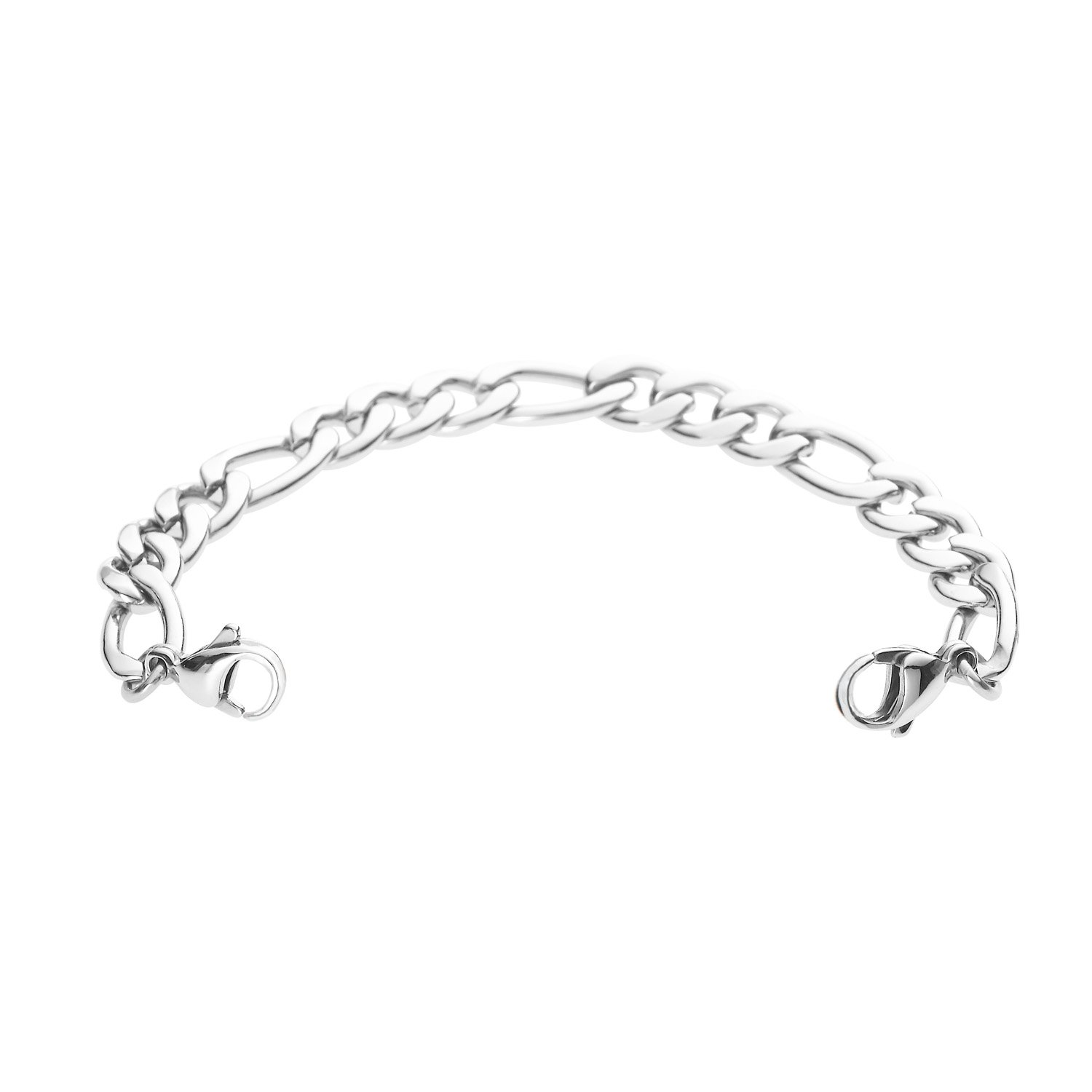 Divoti Figaro Stainless Steel Medical Alert Replacement Bracelet -5.5''