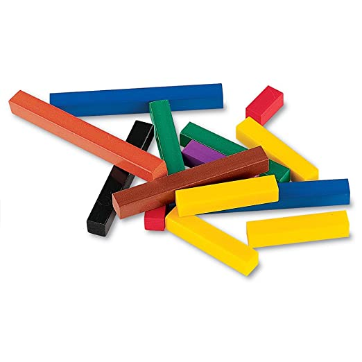 Amazon.com: Learning Resources Cuisenaire Rods Small Group Set ...