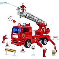 Camion Bomberos Juguetes Coches Vehiculos con Bomba