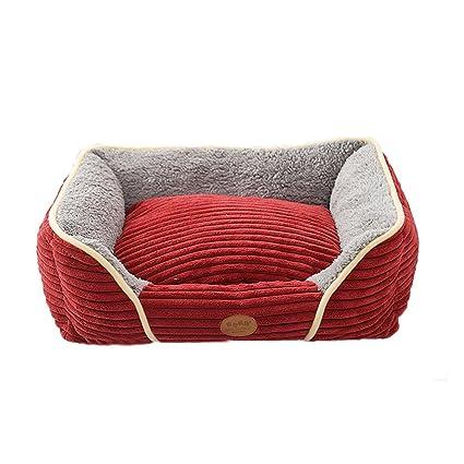 Cálido suave y confortable Hisopos de algodón tejidos para mascotas Perros pequeños tejidos extraíbles de uso