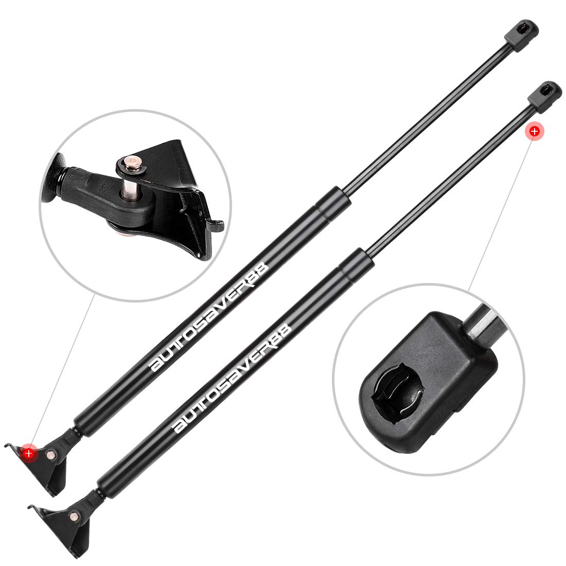 StrongArm 6120 Fits FORD Edge 2007 To 2014 Liftgate Hatch Tailgate Lift Supports 2 Qty