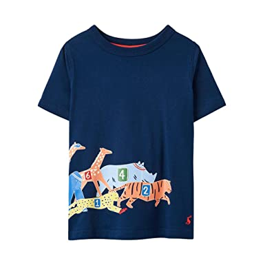 Joules Boys Ray T-Shirt Blue