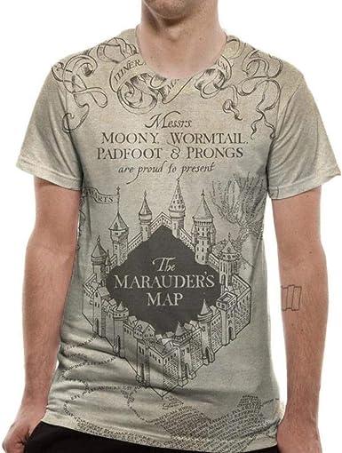 Harry Potter Marauders Map Black Zip Up Hoodie Sweater Unisex Hogwarts