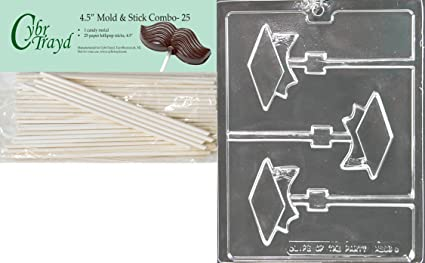 Cybrtrayd 45St25-M239 Plastic mold kit One Size Clear