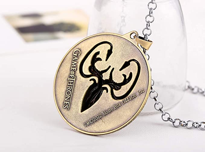 Value-Smart-Toys - House Greyjoy Necklace Baratheon ...