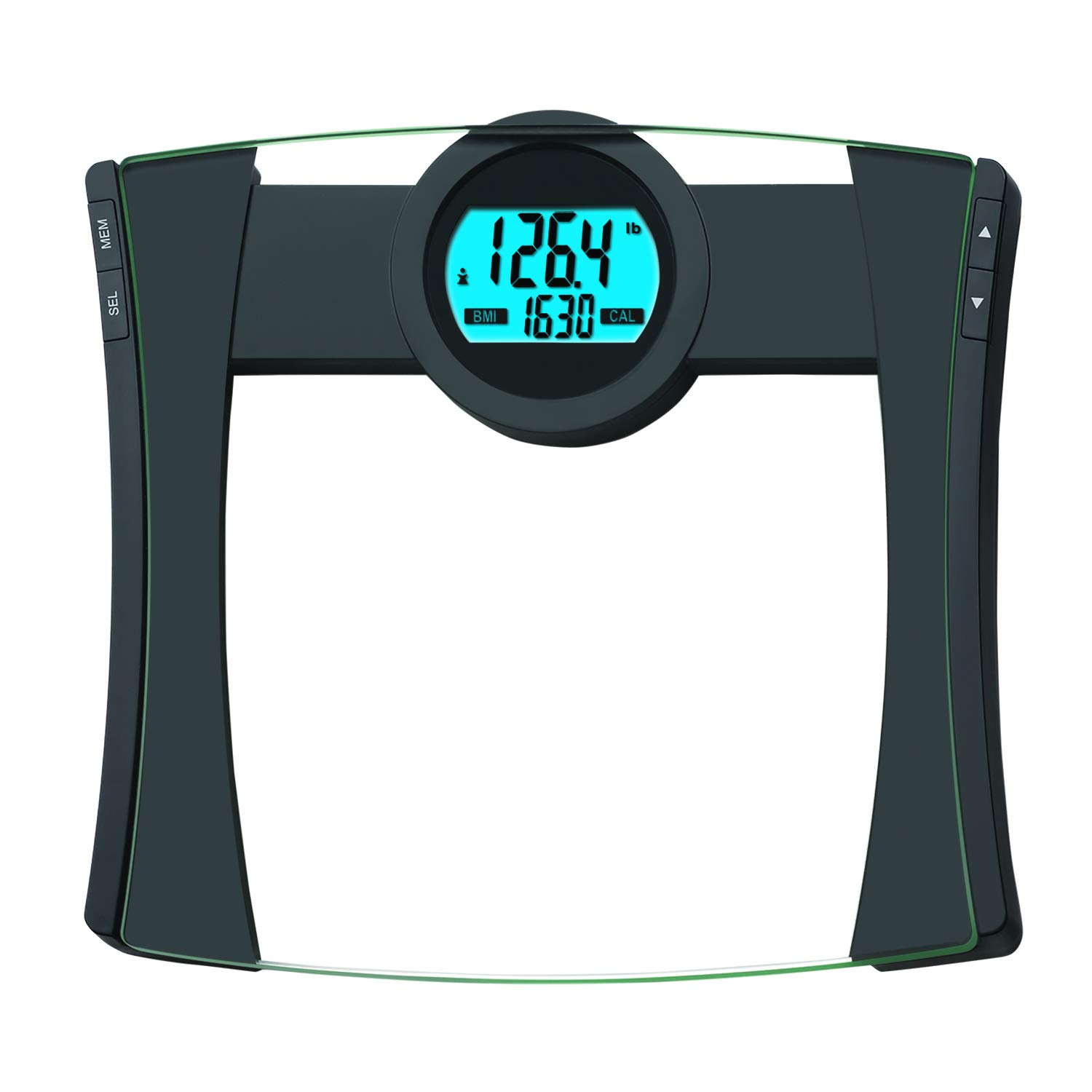EatSmart Precision CalPal Digtal Bathroom Scale with BMI and Calorie Intake, 440 Pound Capacity by EatSmart
