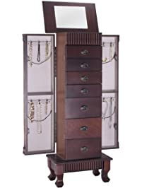 Giantex Jewelry Cabinet Armoire ...