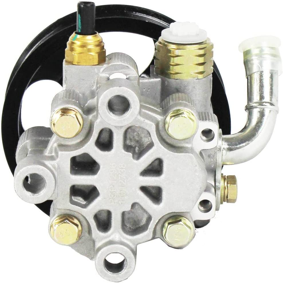 Power Steering Pump and Pulley Assembly for 2001-2007 Toyota Highlander L4 2.4L