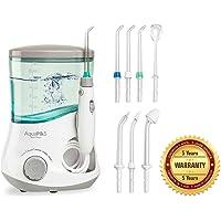 Aquapik 100 - Irrigador dental y Nasal único en el mundo (incluye 7 Boquillas) Recomendado por dentistas y médicos de todo el mundo