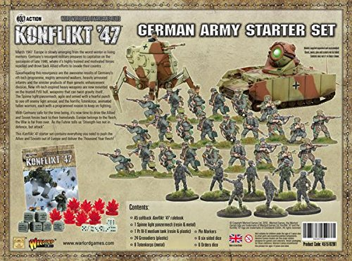 Warlord Games Konflikt '47 German Starter Set