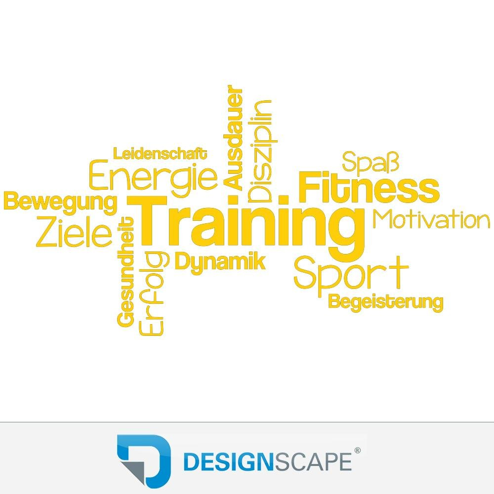 DESIGNSCAPE® Wandtattoo Training Begriffe     Wortwolke zur Motivation   Wandtattoo Sport 120 x 62 cm (Breite x Höhe) dunkelrot DW803439-M-F21 B0716CCWBL Wandtattoos & Wandbilder 153f89