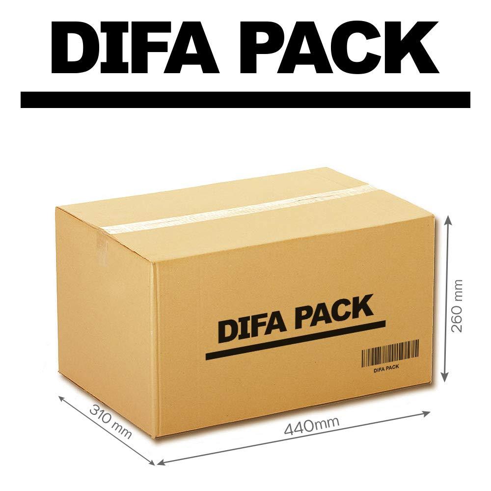 Pack de 12/24 Cajas de Cartón - Alta Calidad, Resistente - Cajas de Mudanza - Color Marrón - Fabricadas en España - Tamaño 440 x 310 x 260 mm - Mudanza ...