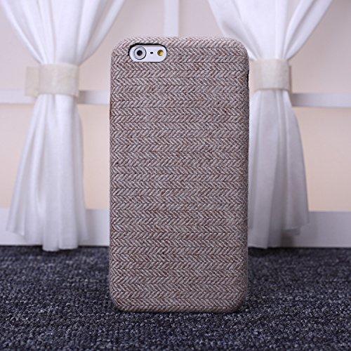 Wkae tissu rétro - angleterre luxe lignes vérifié pour slim en grille de protection hybride pour iphone 6 6s et couverture Wkae Case Cover ( PATTERN : 6 , Size : IPhone 6S 6 )