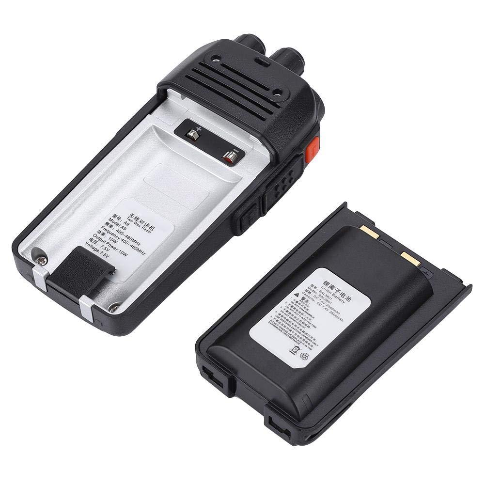 BTIHCEUOT Zastone A9 10W Professional Rechargeable Walkie Talkies 10KM UHF 400-480MHz Handheld Two Way Walkie Talkie 16CH(US Plug100-240V) by BTIHCEUOT (Image #5)