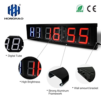Amazon.com : usa timer programmable crossfit interval wall timer