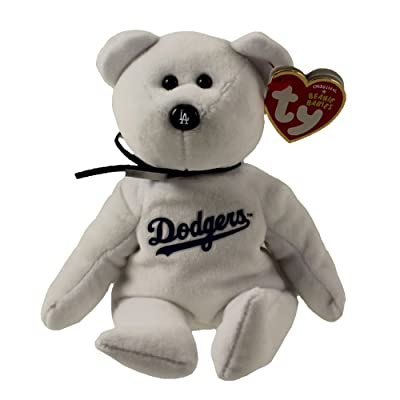 Ty Los Angeles Dodgers MLB Beanie Baby - Teddy Bear (41705): Toys & Games