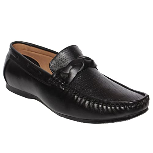 db490e5a5af DESI JUTA Men s Combat Loafers  Buy Online at Low Prices in India ...