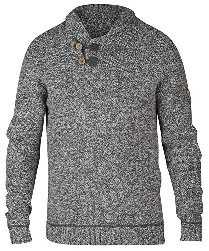 (Fjallraven Men's Lada Sweater, Grey, Small)