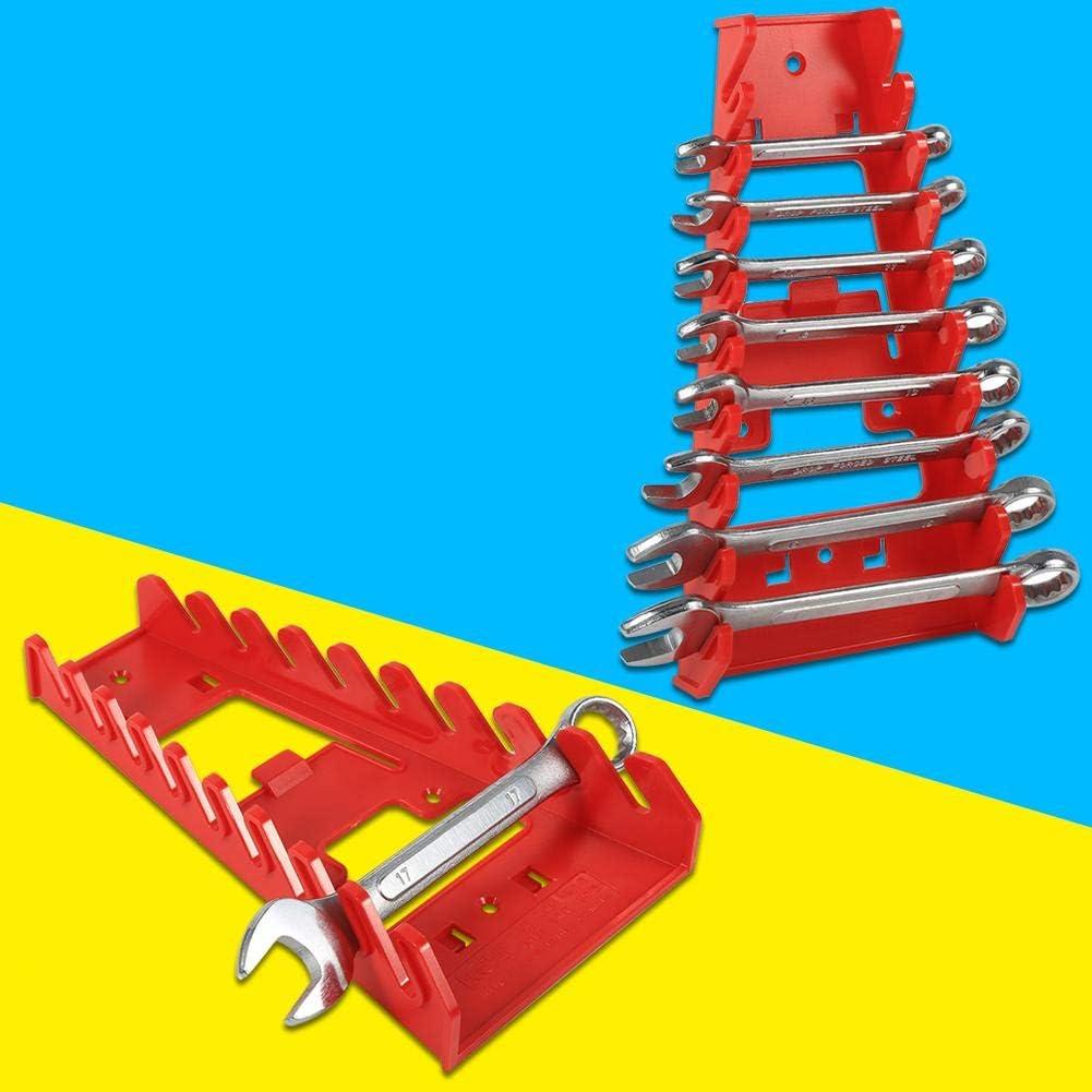 Pasamer Custodia per Strumenti di memorizzazione del portautensili Standard per portapunte Standard in plastica Rossa per Slot 9