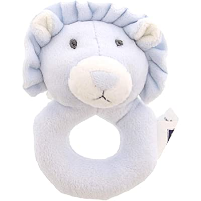Janie and Jack Plush Lion Rattle Rattles & Ring 200364091: Janie And Jack: Toys & Games