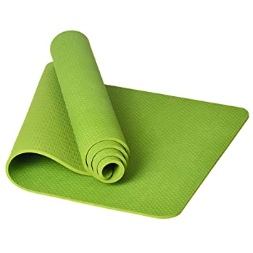QAZWSXD 8MM Esterilla de Yoga TPE Alargada 183CM Gruesa ...