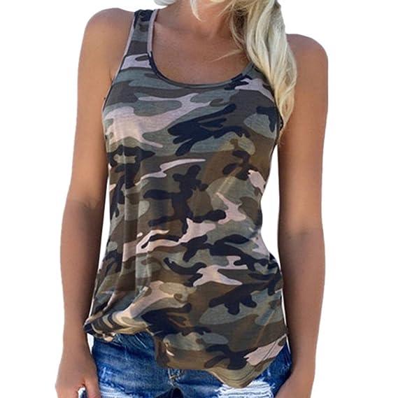 MEIHAOWEI Camuflaje Imprimir Tank Tops Verano Camiseta Mangas Chaleco Tank T-shirt Choice 9