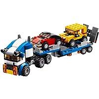 Gooyo 3 in 1 Architect Vehicle Transporter DIY Building Block Construction Set Toy- 264 Pcs Toys for Boys Kids