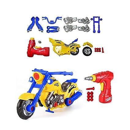 Montado Moto Juego Hazlo Para Juguete Niños Aolvo Mismo Tú IbfYgym6v7