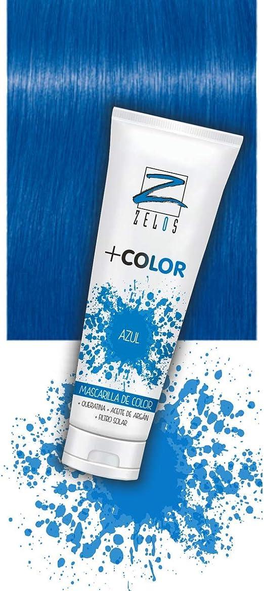 Mascarilla de Color para el Pelo - Azul - 200 ml - Mascarilla ...
