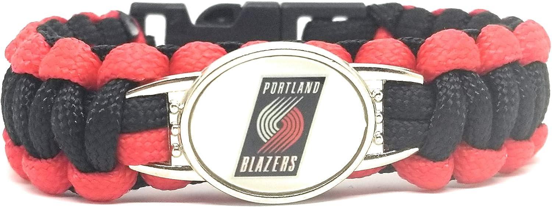 SportsBraceletsPro American Football Team Bracelets Military Grade Paracord Adult 8 Size
