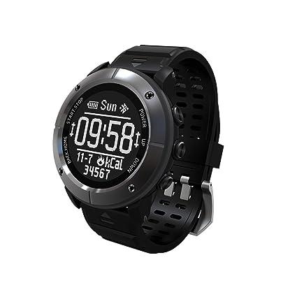 Makibes G06, Reloj inteligente Multisport, Reloj GPS. Reloj de pulsera, Monitor de
