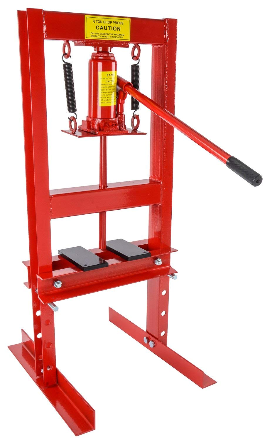 JEGS 81518 Hydraulic Shop Press 6-Ton Bench Top Mount by JEGS