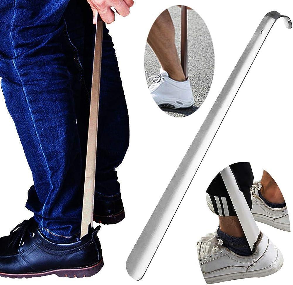 "22.5/""//57cm Long Handle Shoehorn Shoe Horn Lifter Disability Aid Flexible Stick"